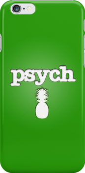 Psych Phone Case Variation by tychilcote