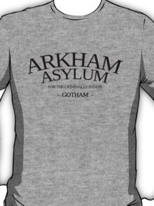 Inspired by Gotham - Arkham Asylum T-Shirt