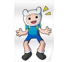 Adventure Time - Finn the Human Poster