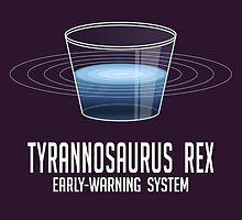 Tyrannosaurus Rex Early-Warning System by KirbishArt
