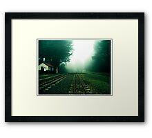 No Trains Framed Print