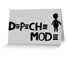 Depeche Mode : Playing the Angel - 2 - Black Greeting Card