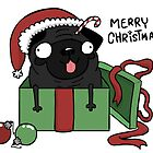 holiday Pug by Gregory Swanson