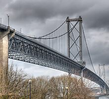 Forth Road Bridge by Ann Garrett