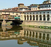 Ponte Vecchio Florence by Gino Iori