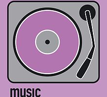 music purple by Micheline Kanzy