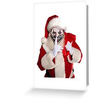 Twisty Claus Greeting Card