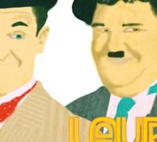 Laurel & Hardy Sticker