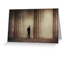 123 President Greeting Card