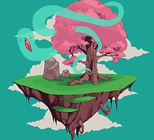 Ghost Island by blackdesign