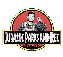 Jurassic Parks and Rec by MikazukiMoon