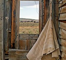 Porch Window Bodie Ghost Town by Mark Ramstead