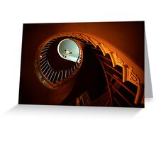 Southern Spiral Staircase Greeting Card