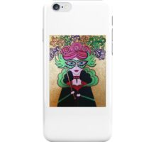 Miss Masquerade - Acrylics on Canvas iPhone Case/Skin