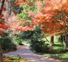 Autumn Path Sticker