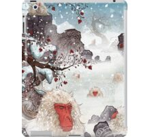 Soaking Japanese Snow Monkeys iPad Case/Skin