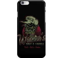 Walker's Bait N' Tackle iPhone Case/Skin