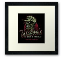 Walker's Bait N' Tackle Framed Print