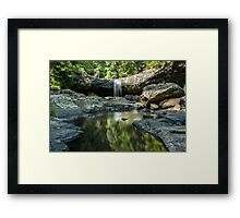 Lip Falls Framed Print