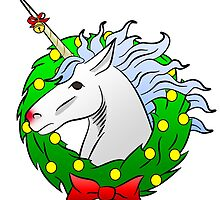 Christmas Unicorn by sperraton