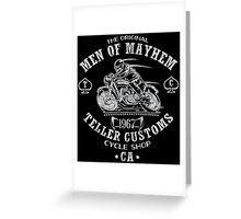Teller Customs Greeting Card