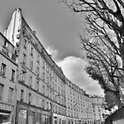 Paris, Street, Bend by Andrew Reid Wildman