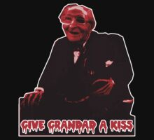 Give grandad a kiss. by hyde