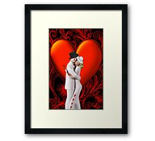 ¸¸.♥➷♥•*¨OH.. ONE LAST KISS VALENTINE ¸¸.♥➷♥•*¨ Framed Print