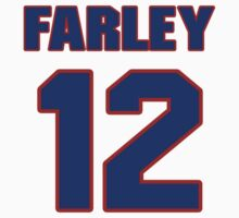 Basketball player Dick Farley jersey 12 by imsport