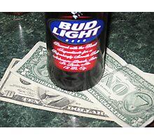 Beer Money Photographic Print