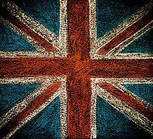 United Kingdom (British Union jack) flag by Stanciuc