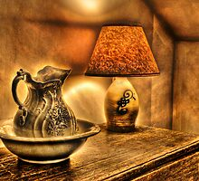 Pitcher and lamp by Mike  Savad