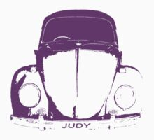 VW Beetle -  Purple _Judy by melodyart