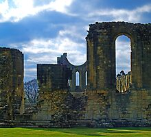 Byland Abbey 2 by WatscapePhoto