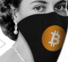 Queen Bitcoin Bandit Geek Sticker