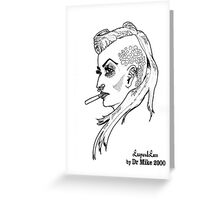 The Rogue Session - LeopardLass Greeting Card