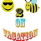 happy to bee on vacation by gruntpig