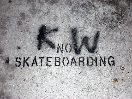 KnoW skateboarding by Alyssa Medina