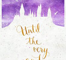 "Harry Potter ""Until the very end"" by earthlightened"