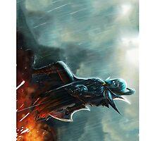 Dota 2 - Phantom Assassin by mertocin