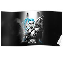 League of Legends - Jinx Poster