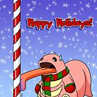 Happy Holidays Lickitung by RedFlare
