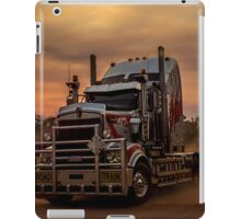 Prime Mover Kenworth truck at Sunset iPad Case/Skin