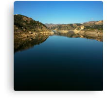 artificial lake Canvas Print