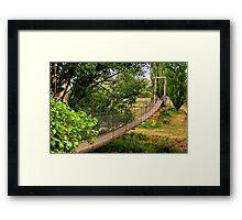 """""""Way Over"""" Framed Print"""