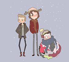 Team free will by frecklepies
