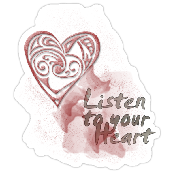 Listen to your heart by webgrrl