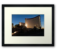 Wynn and Encore Framed Print