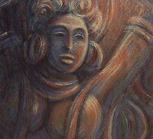The celestial nymph (The Fire Dance) by Deivis Slavinskas