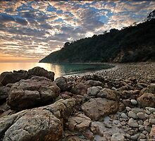 Pebble Beach by Robert Mullner